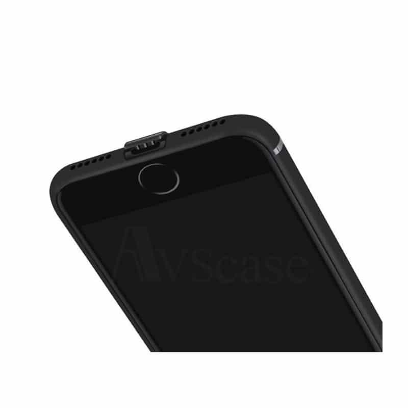 coque iphone 7 ultra mince noir mate avscase