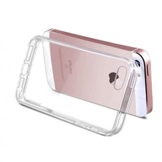 Pack Apple iPhone - 1 Coque Silicone + 1 Verre Trempé