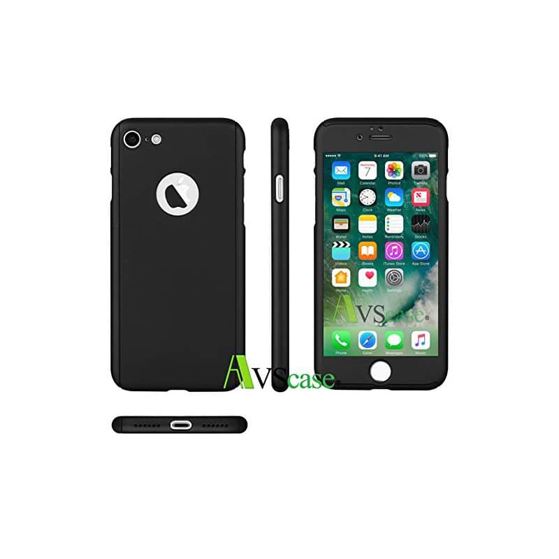 coque protection int grale 360 pour apple iphone 7 avscase. Black Bedroom Furniture Sets. Home Design Ideas