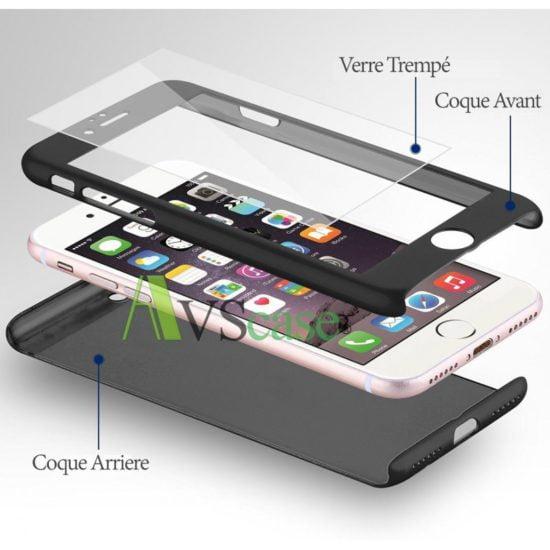 Coque Protection Intégrale 360° Pour iPhone 7