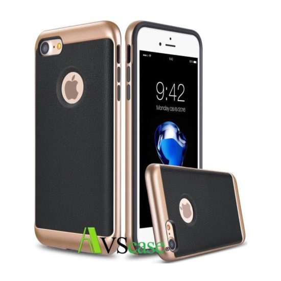 Coque Protection Aspect Cuir Pour Apple iPhone 7