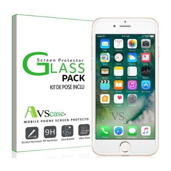 Pack iPhone 7 - Coque Antichocs + Verre Trempé