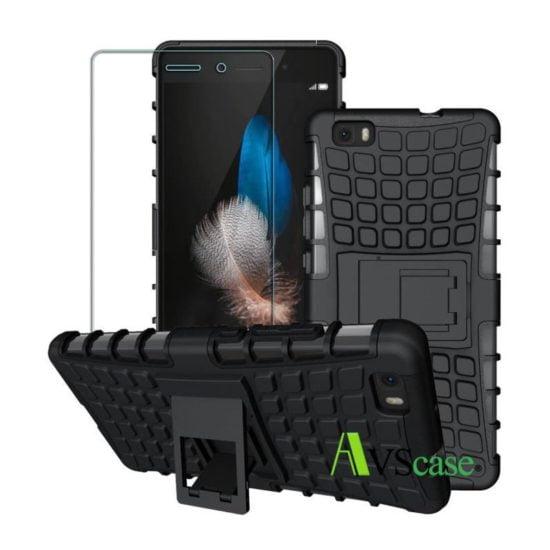 Pack Huawei P8 Lite - Coque Antichocs + Verre Trempé
