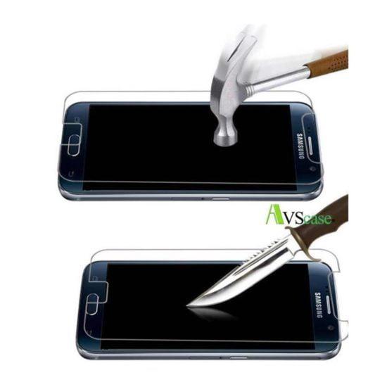 Pack Galaxy S6 Coque Silicone + Verre trempé