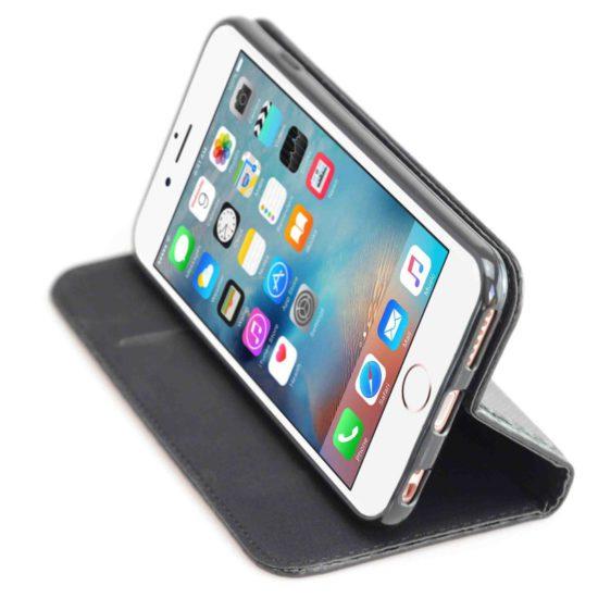 Housse Coque Etui Magnétique Carbone - iPhone 6S - AVSCASE