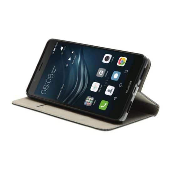 Housse Coque Etui Magnétique Huawei P9 Lite Noir