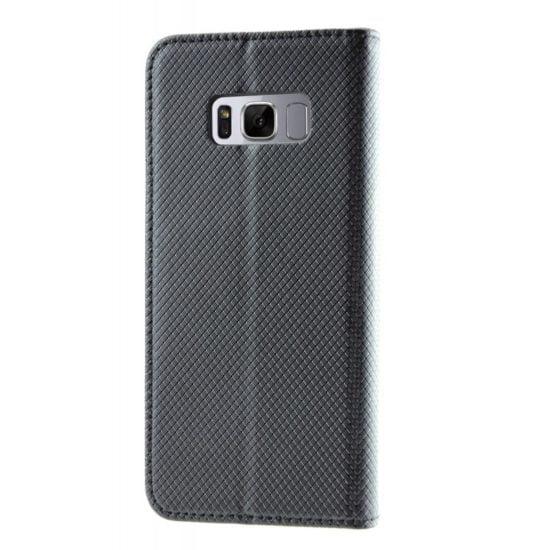 Housse Coque Etui Magnétique Samsung Galaxy S8 Noir