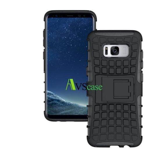 Coque Antichocs Web TV Galaxy S8 - Noir