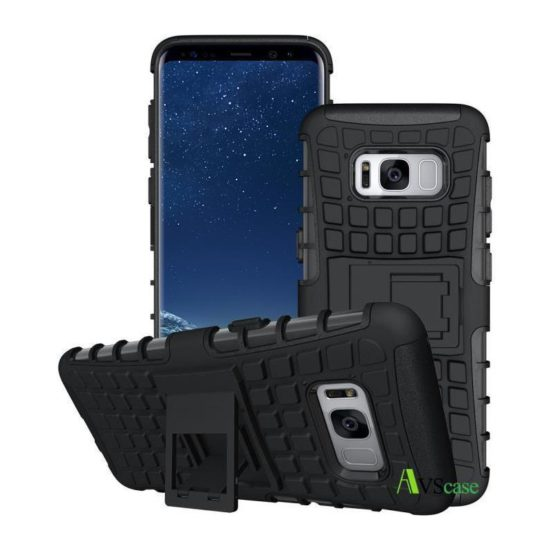 Coque Antichocs Web TV Galaxy S8 - Noir