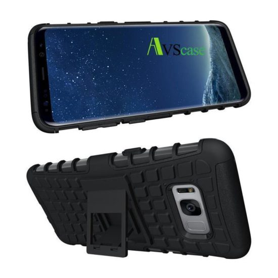 Coque Antichocs Web TV Samsung Galaxy S8 Plus Noir