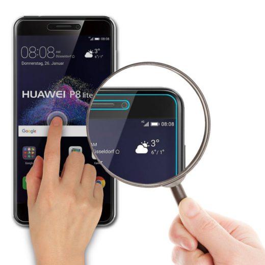 Pack Huawei P8 Lite 2017 - Coque Silicone + Verre Trempé