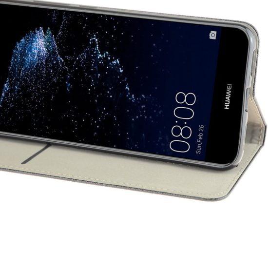Housse Coque Etui Magnétique Huawei P10 Lite Noir