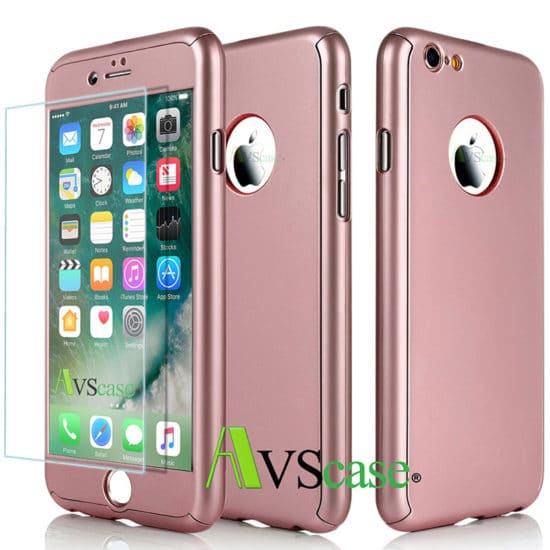coque protection iphone 7 rose