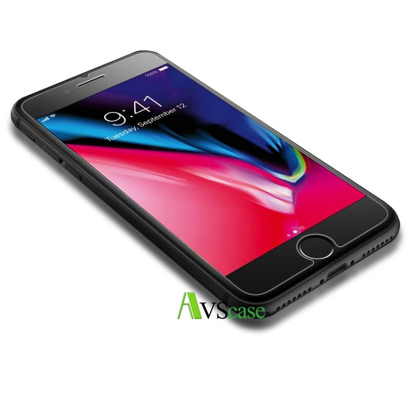 coque en verre trempe iphone 8