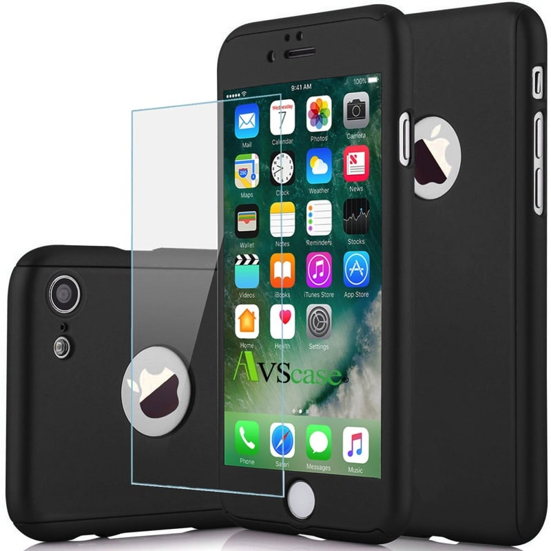 coque protection int grale 360 apple iphone 8 avscase. Black Bedroom Furniture Sets. Home Design Ideas